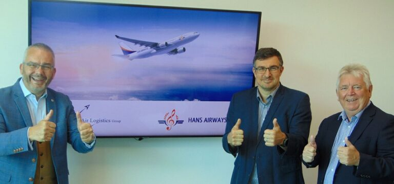 Hans Airways Signs Contract with Air Logistics Group