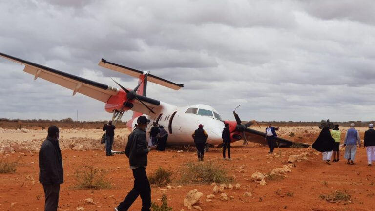 Skyward Express Passenger Plane crashed in Kenya