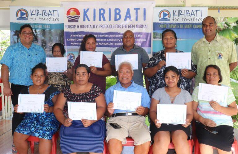 Kiribati keeps borders closed but hospitality training in full swing