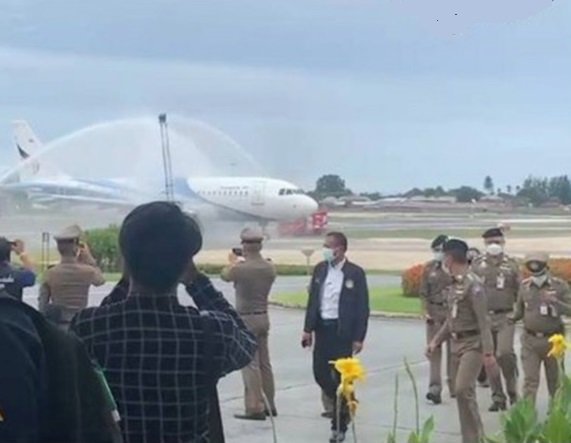 Samui Airport Sees First International Tourists Since Lockdown