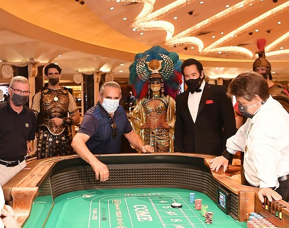 What Happens in Vegas Should be Masked