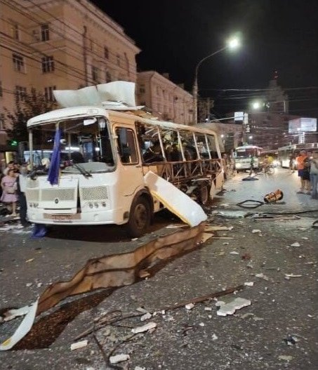 Multiple people wounded in Russian bus explosion