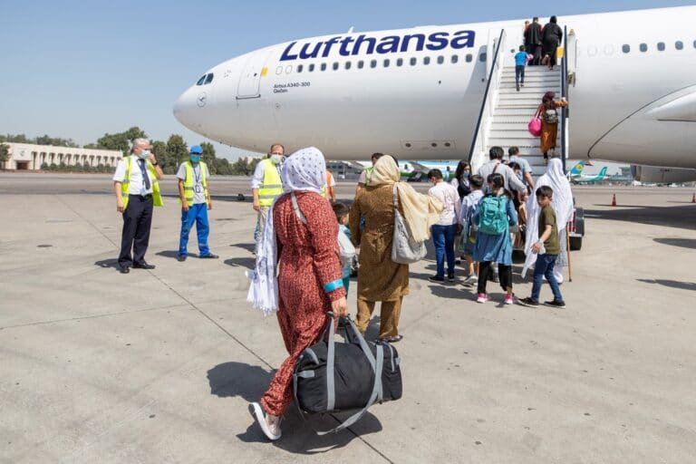 Lufthansa rescue mission for Afghanistan in full swing