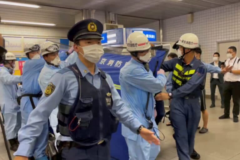 Ten People Wounded In a Stabbing Rampage On Tokyo Commuter Train