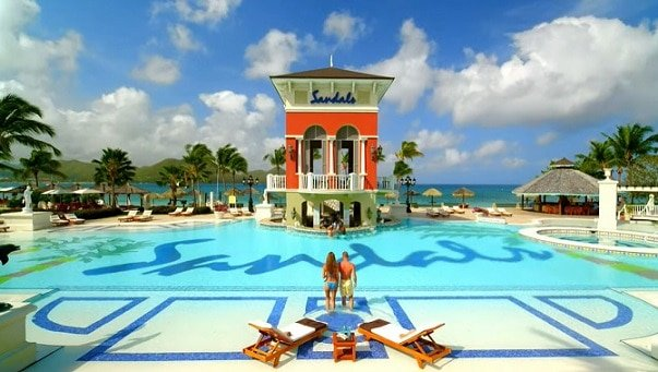 Sandals: The world's only 5-star luxury included resorts