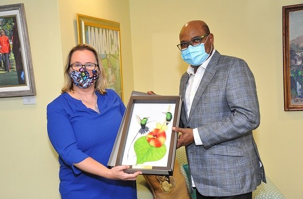 Jamaica Tourism Minister Meets with New Canadian High Commissioner to Jamaica