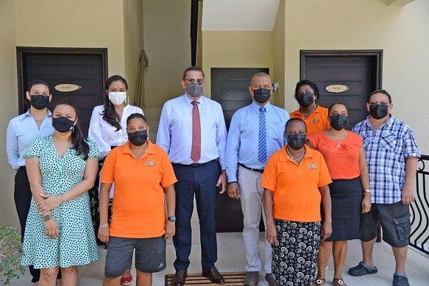 Seychelles Tourism Minister explores small establishments at Bel Ombre on Mahé
