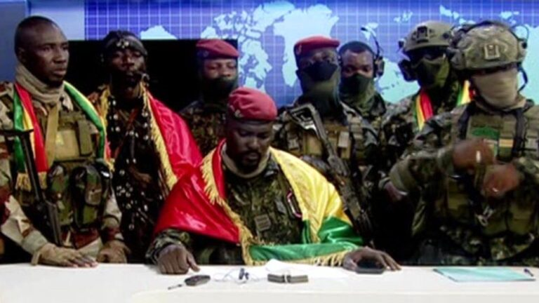 Guinea coup: President arrested, government dissolved, borders closed