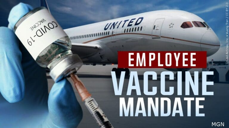 United Airlines: Get a COVID-19 jab or get lost