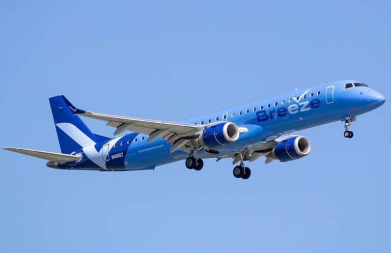 Breeze Airways resumes New Orleans flights post-Hurricane Ida