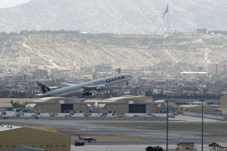 First international passenger flight departs from Kabul airport