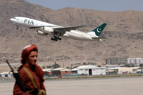 First foreign passenger flight from Islamabad lands at Kabul airport