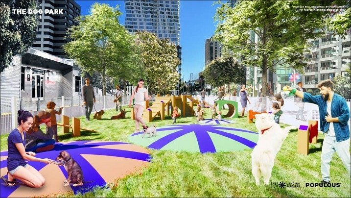 The Crossing Launches Vibrant Destination at Temporary Transbay Terminal