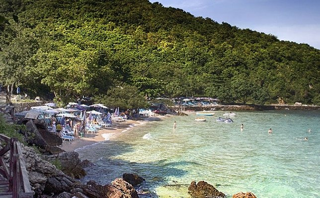 Vaccine? Test? Not here! Visit happy Koh Larn tropical island